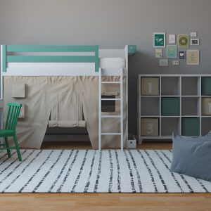 Scandivanvian Kids Bedroom / 3D Models Set