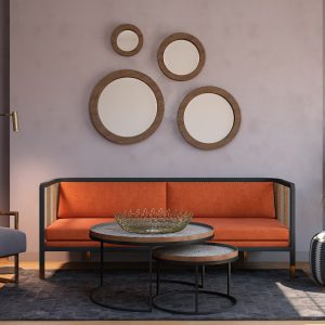 Eclectic Living Room / 3D Models Set