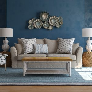 Living Room Mediterranean Style / 3D Models Set