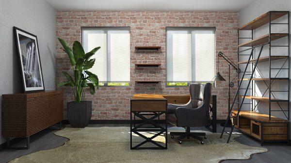 Oficina Loft / Set Modelos 3D
