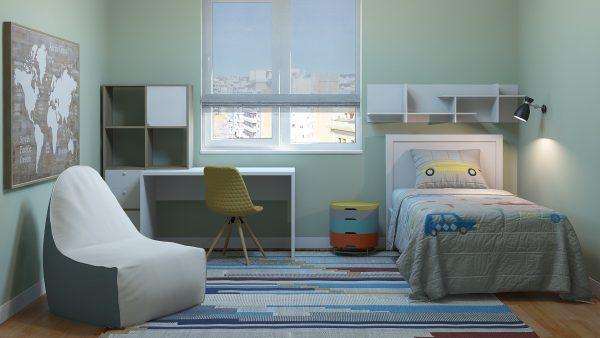 Habitación Infantil Fusión / Set Modelos 3D