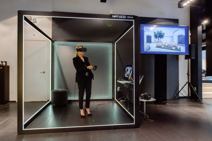 VR Shopping by Natuzzi