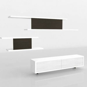 Mueble 3D Salón Benlliure&Baixauli