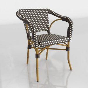3D Chair Benlliure&Baixauli Café Paris