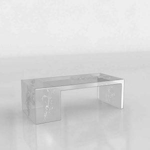 3D Coffee Table Benlliure&Baixauli Usame Kartell