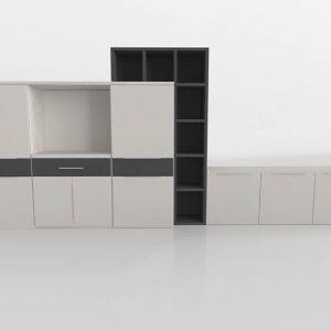 Mueble Salón 3D Benlliure&Baixauli Nordic