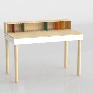 3D Desk Benlliure&Baixauli Bureau Imasoto