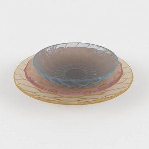 Vajilla 3D Benlliure&Baixauli Jellies Family Kartell