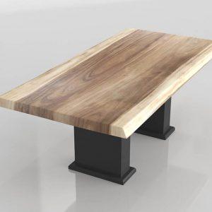 Mesa 3D Comedor Benlliure&Baixauli Madera Natural