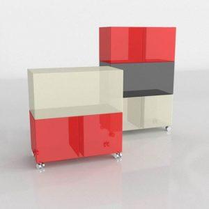 Cómodas 3D Benlliure&Baixauli One Kartell