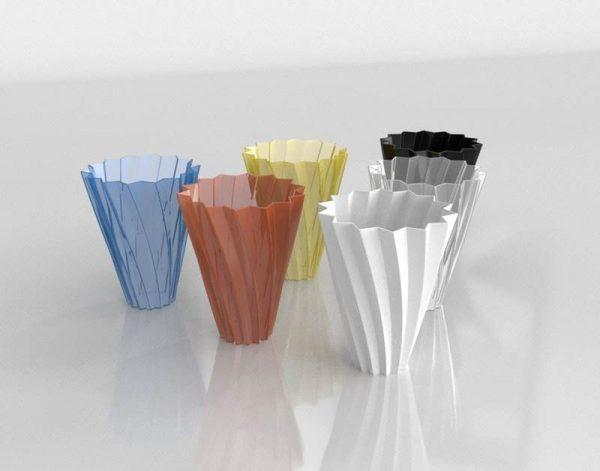 Jarrones 3D Benlliure&Baixauli Shanghai Kartell