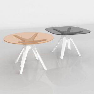 Mesas 3D Benlliure&Baixauli Sir Gio Kartell
