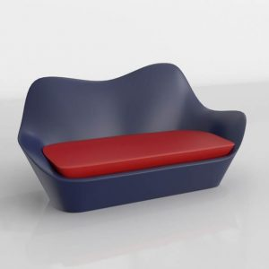 3D Sofa Benlliure&Baixauli Sabinas Vondom