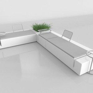 Sofá 3D Benlliure&Baixauli Kes Vondom