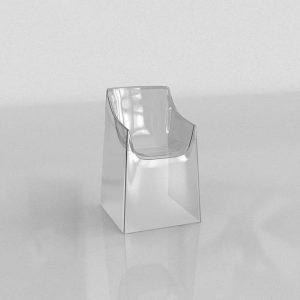 3D Chair Benlliure&Baixauli Silk Kartell