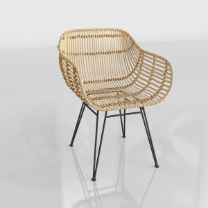 3D Chair Benlliure&Baixauli Wicker