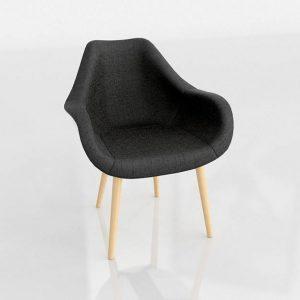 3D Chair Benlliure&Baixauli Tulipa