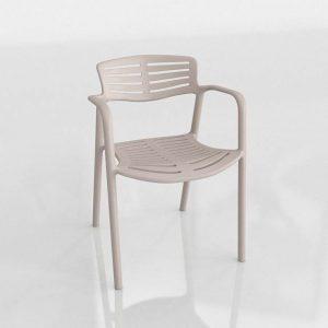 3D Dining Chair Benlliure&Baixauli Toledo Aire