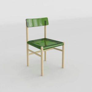 3D Chair Benlliure&Baixauli Trattoria Magis