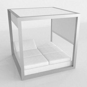 3D Outdoor Bed Benlliure&Baixauli Vela Vondom