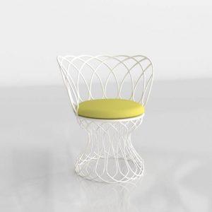 3D Chair Benlliure&Baixauli Re Rrouve Emu