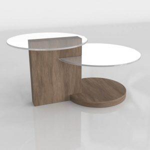 Mesa Escalonada 3D Benlliure&Baixauli Canaletto