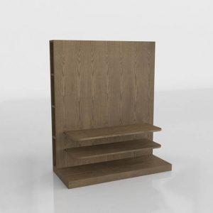 Mueble Tv 3D Benlliure&Baixauli Nogal
