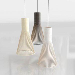 Lámparas 3D Benlliure&Baixauli 4200 Secto