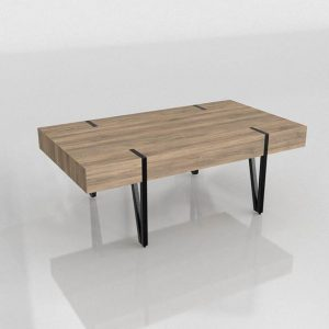 Mesa de Café 3D Kiona Vintage Merlin