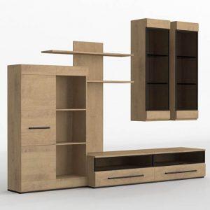 Mueble 3D Salón Kiona Modular Forest
