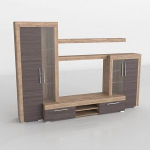Mueble 3D Salón Kiona Modular Mallorca