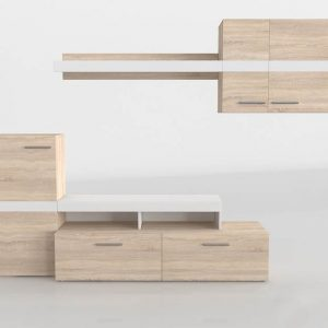 Mueble 3D Salón Kiona Modular Marcos