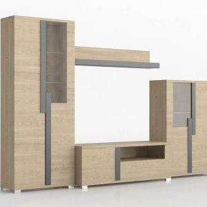 Mueble 3D Salón Kiona Modular Link