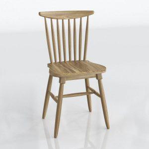 3D Dining Chair Kiona Vintage Lisa