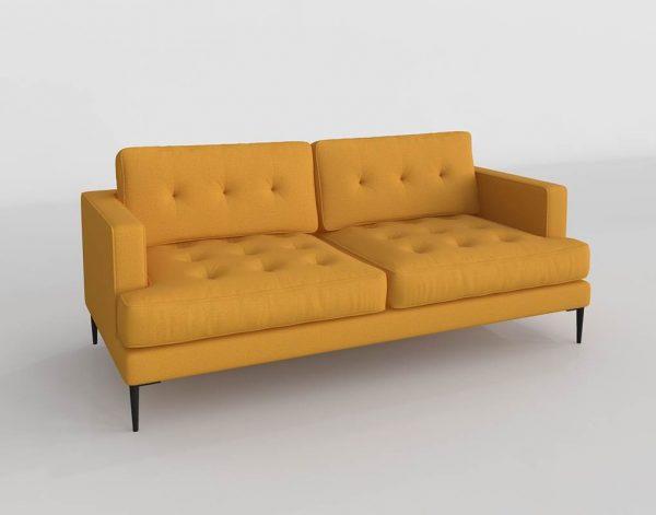 Sofá 3D Kiona Vinny