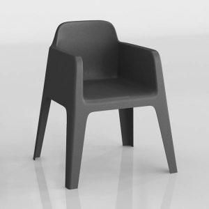 Silla 3D Benlliure&Baixauli Plus Pedrali