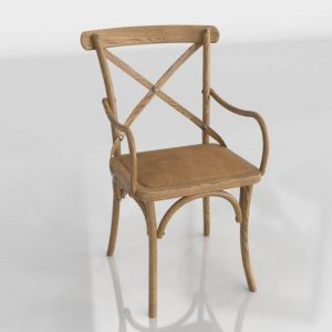 3D Chair Benlliure&Baixauli Thonet Natural