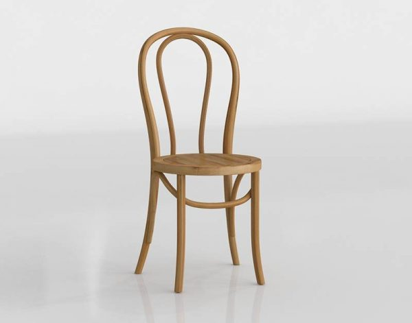 3D Chair Benlliure&Baixauli Thonet 14
