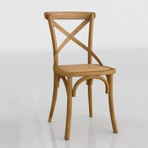 3D Chair Benlliure&Baixauli Thonet Cruz