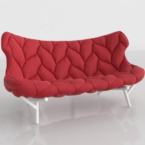 Sofá 3D Benlliure&Baixauli Urquiola Kartell