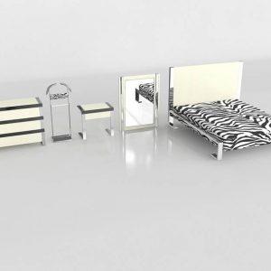 Conjunto de Dormitorio 3D Valentí Vancouver