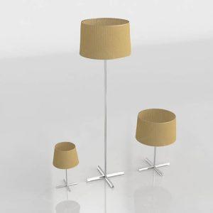 Conjunto de Lámparas 3D Valentí Deltebre Grande