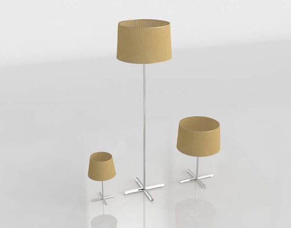 Conjunto de Lámparas 3D Valentí Deltebre Pequeño