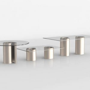 3D Dining Table Valentí Laberinto
