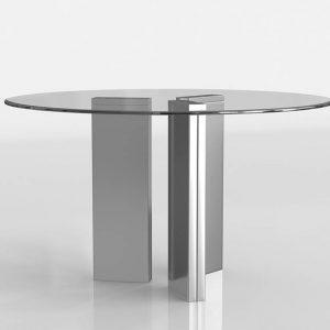 3D Dining Table Valentí Round Tania