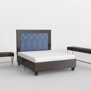 3D Bedroom Set Valentí Etoile