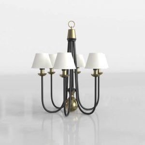 Lámpara de Araña 3D Valentí Emperatriz