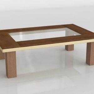Mesa de Café 3D Valentí Chipre Natural