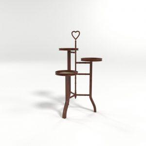 Mesa Auxiliar 3D Valentí Madeleine