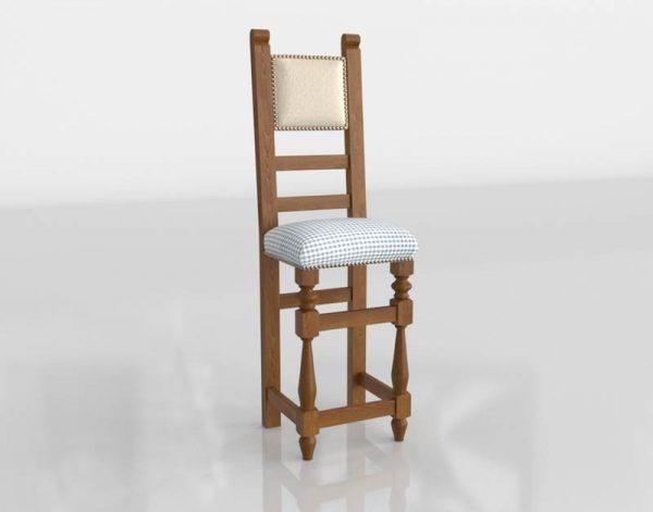 3D Dining Chair Valentí Or